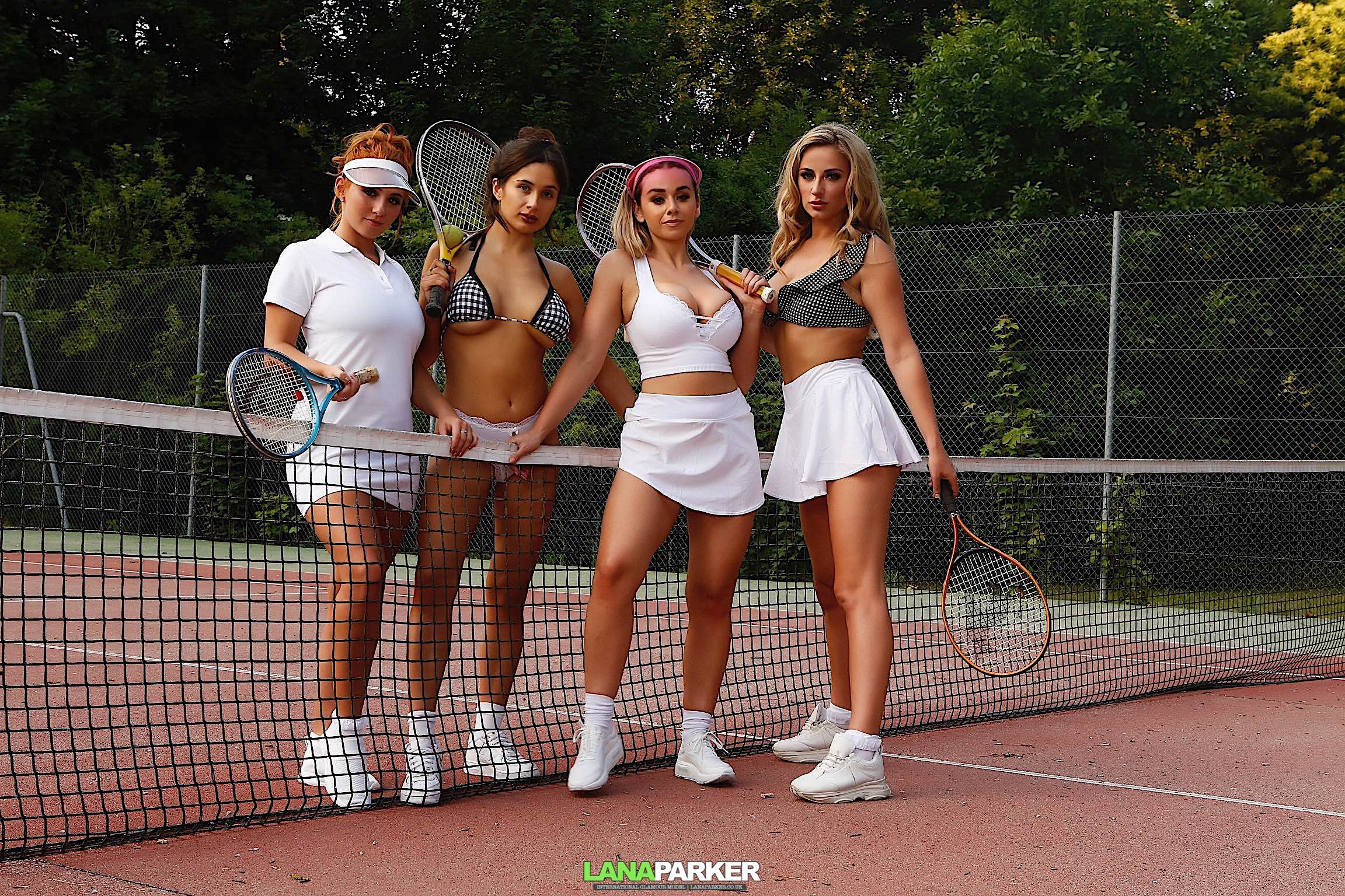 Topless Tennis – FREE VIDEO